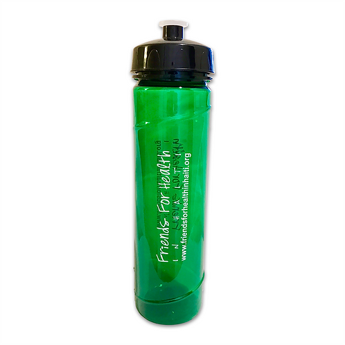 FHH Logo Water Bottle - Green