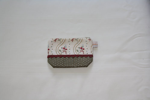 Accessory Bag Small Roses with Dots