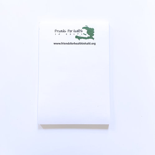 """FHH Logo 4"""" x 5.5"""" Post-It Notes"""