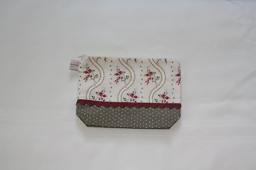 Accessory Bag Medium Roses with Dots
