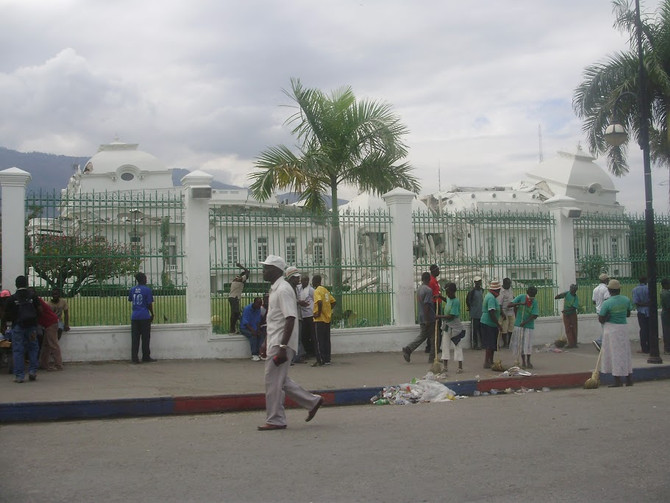 Photos from Port-au-Prince