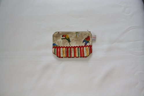 Accessory Bag Small Parrots with Stripes