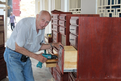 """FHH GIVES TRIBUTE TO """"MASTER CARPENTER"""" ROBERT J. CHASE"""