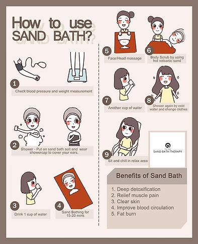 sand bath step