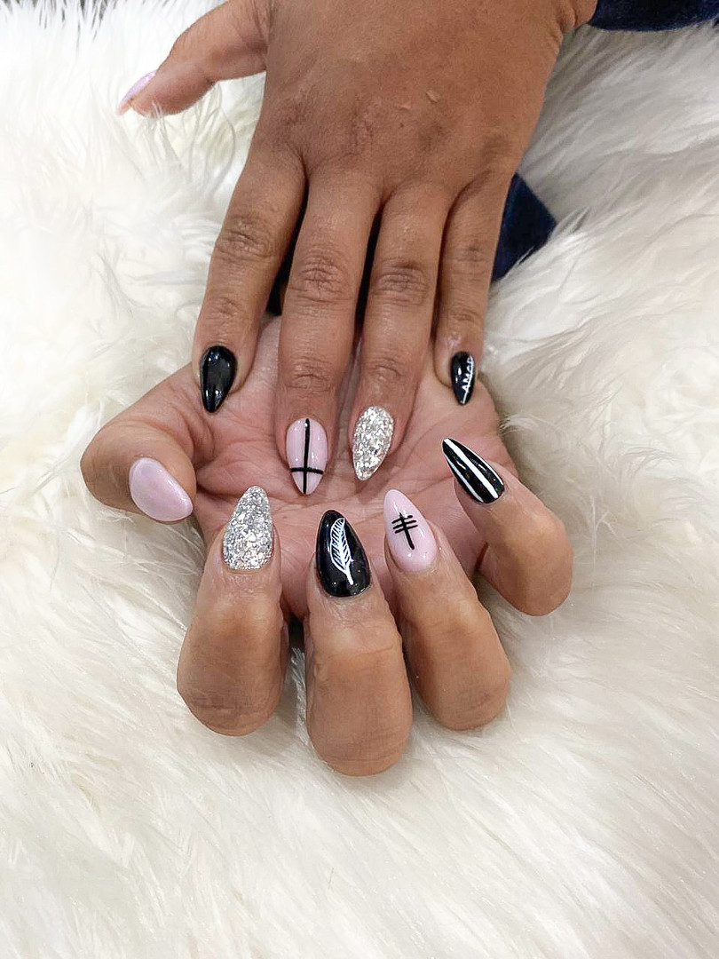 Allure Beauty & Spa Benoni Johannesburg South Africa_Nails Done at the Salon