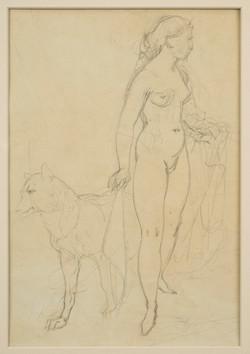 Iowa Girl, Reverse drawing