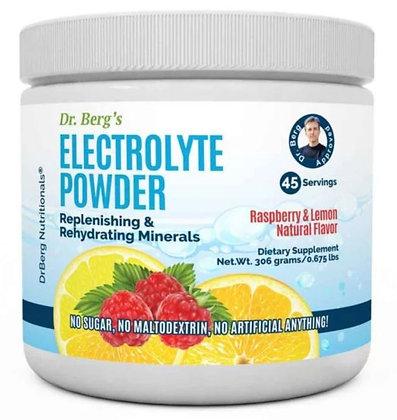 Dr Berg's Electrolyte Powder Raspberry Lemon