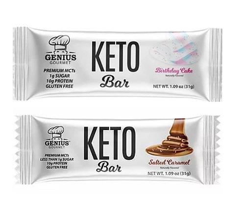 Genius Gourmet Keto Bars 2-Pack