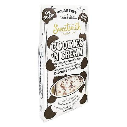 SweetSmith Candy Co Sugar-Free Cookies & Cream