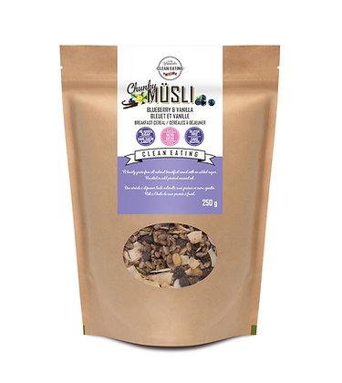 KZ Clean Eating Breakfast Cereal Blueberry Vanilla Musli