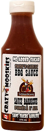 Crazy Mooskies BBQ Sauce Smoke 'n Garlic