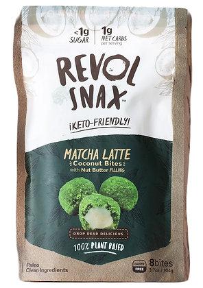 Revol Snax Matcha Latte Bites