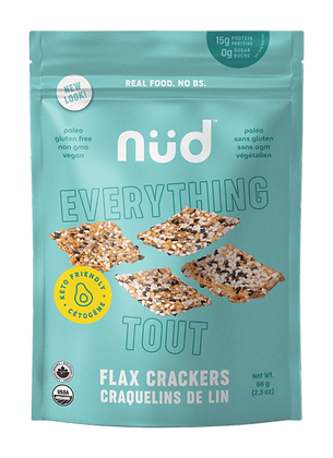 Nud Everything Flax Crackers
