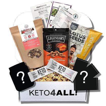 Single KETO4ALL! Lifestyle Premium Box