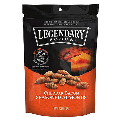 Legendary Foods Cheddar Bacon Almonds