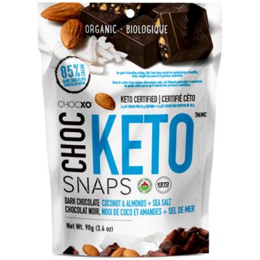 CHOCXO Chocolate Keto Snaps