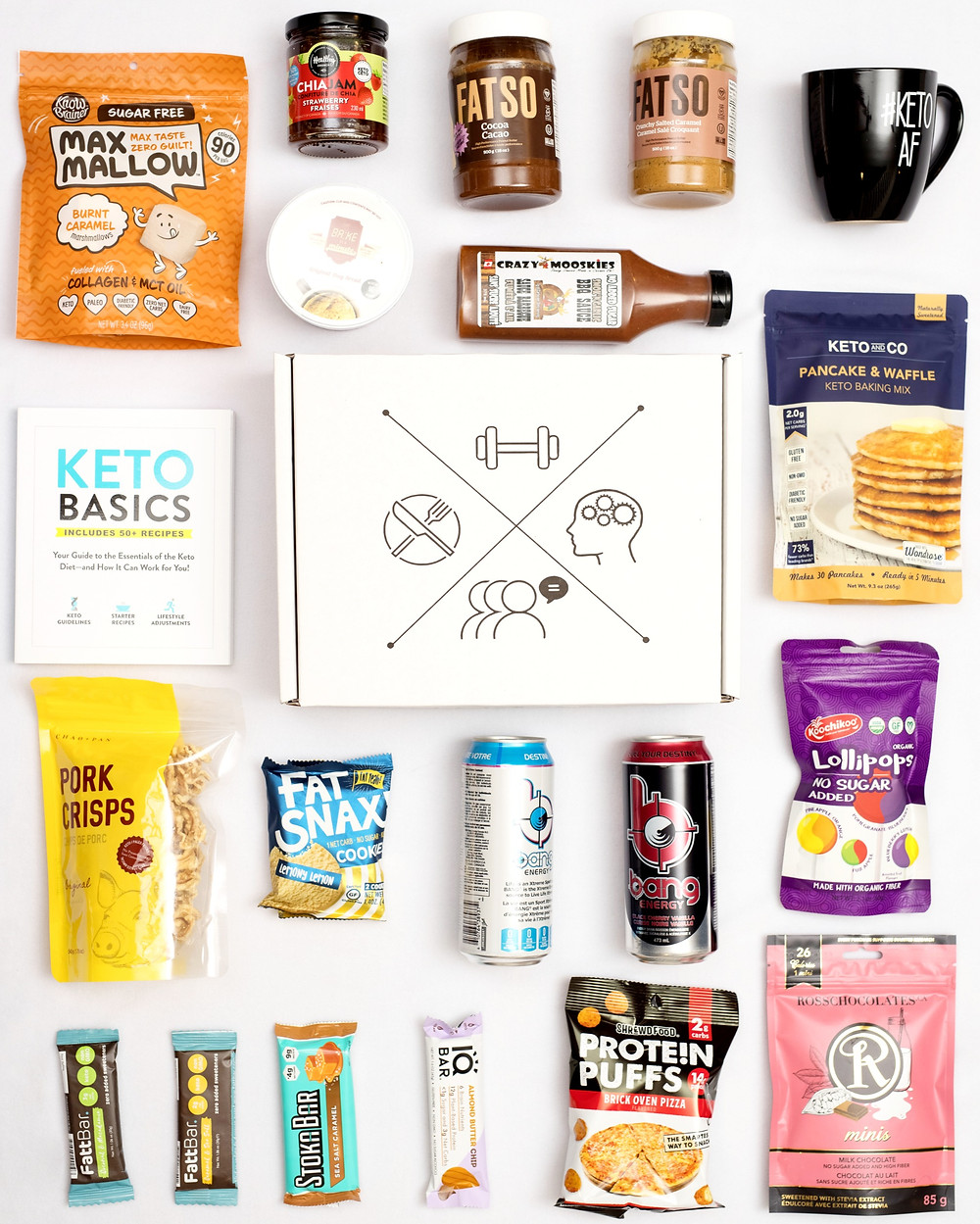 The most popular keto snacks of 2019 from our keto boxes!