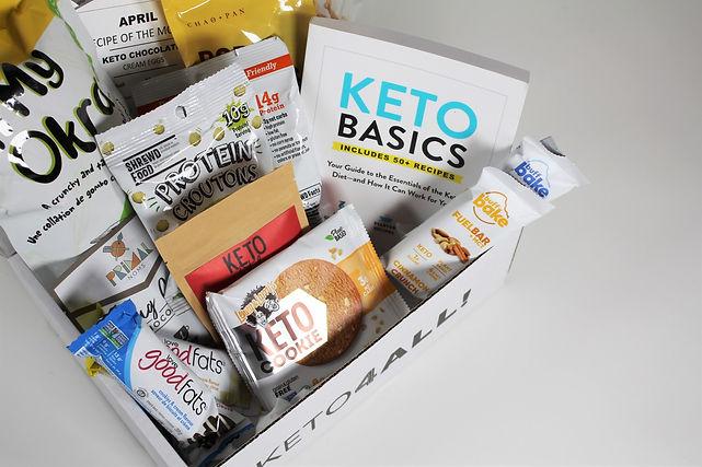 Canadian keto, low-carb, sugar-free subscription box service