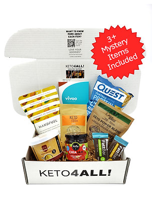 Single KETO4ALL! Lifestyle Premium Box