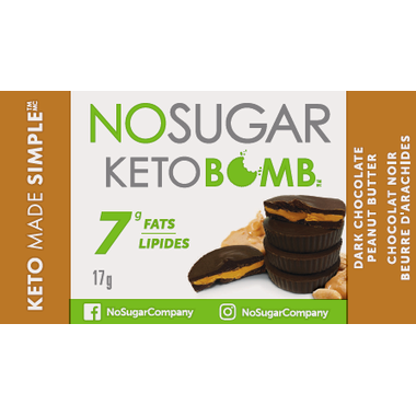 No Sugar Keto Bomb 3-Pack