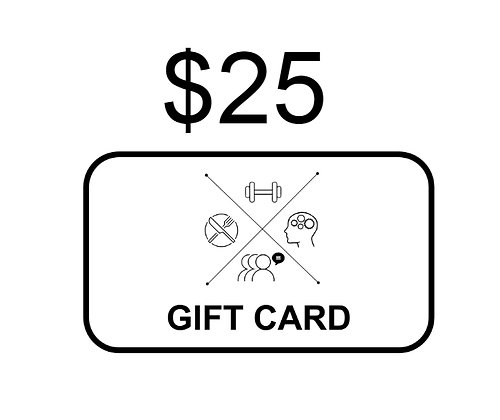 $25 KETO4ALL! Gift Card