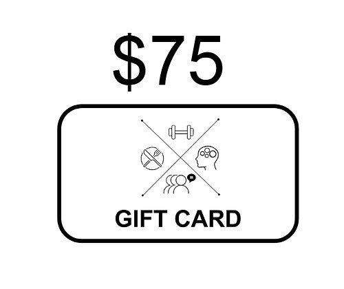 $75 KETO4ALL! Gift Card