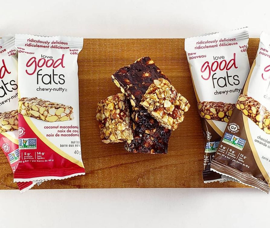 Love Good Fats Chewy-nutty bar featured in the September box