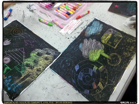 미술치료 프로그램 매월 두번 운영