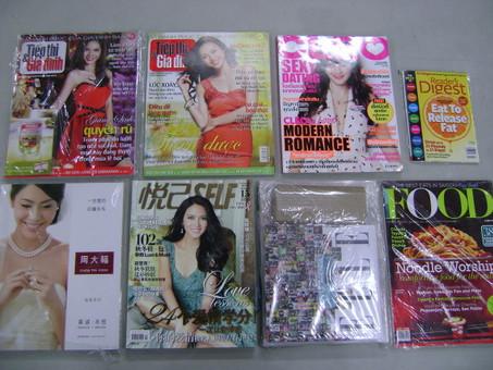 아시아 각국의 새 잡지가 도착했습니다.