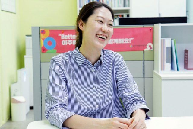 지난 7월 2일 서울온드림교육센터에서 만난 김수영 센터장은 중도입국청소년도 우리나라 국민과 마찬가지로 마땅한 권리를 누릴 수 있는 세상을 꿈꾼다고 말했다. ⓒ서울온드림교육센터 제공
