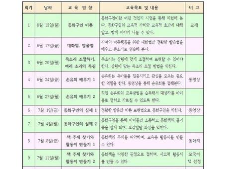 다국어 동화구연가 양성과정(2기) 개강