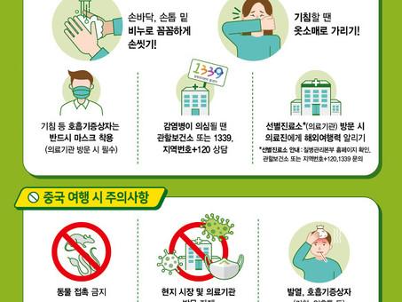 코로나바이러스감염증-19 예방 수칙(다국어)