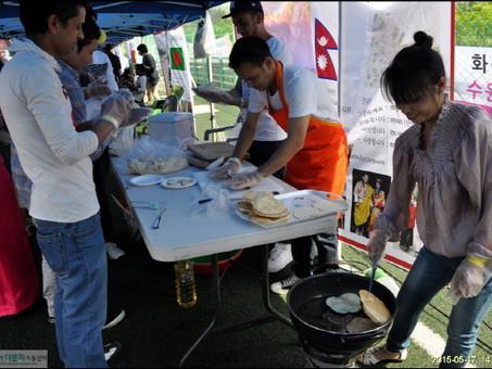 세계인의 날 '화성시 세계문화축제'에 참여했습니다