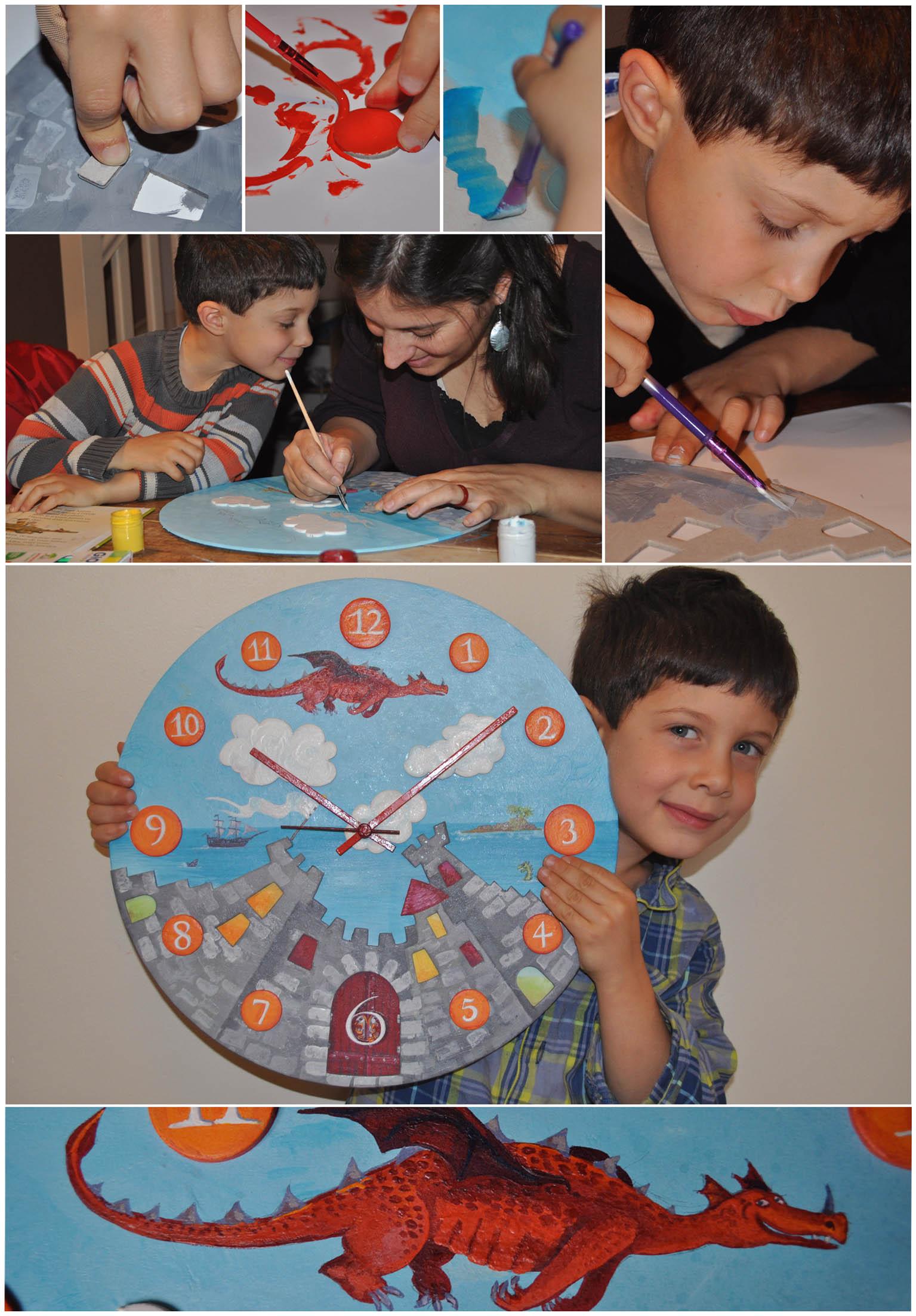 Horloge en kit pour enfant