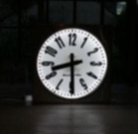 horloge extérieure en zinc Jeanne Petit