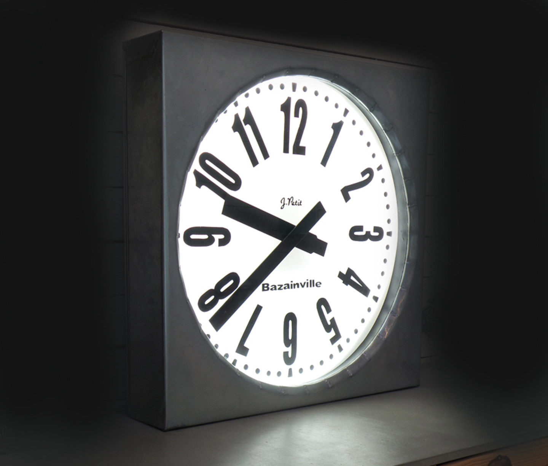 Horloge extérieure Zinc