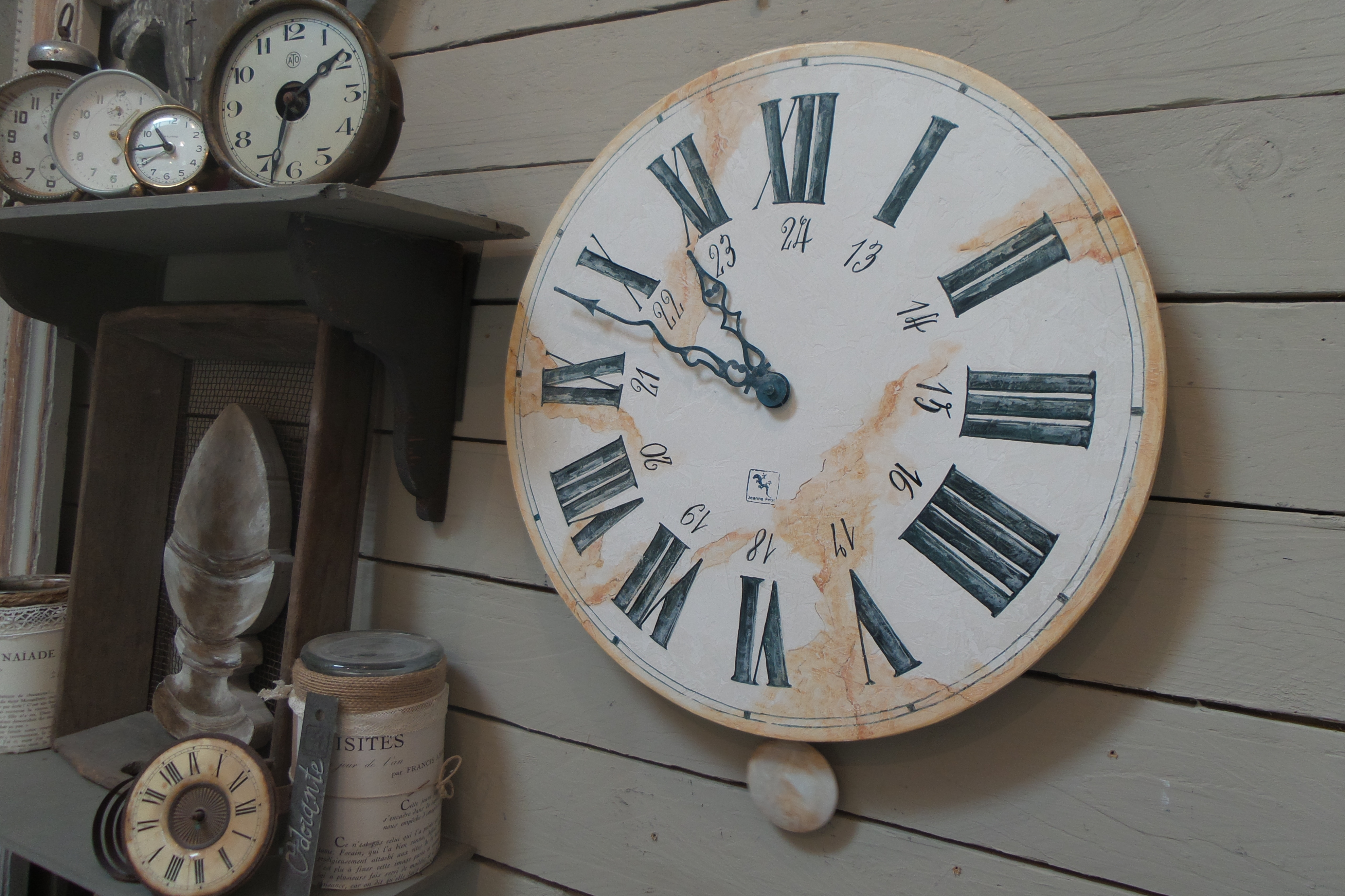 Horloge 40 cm à balancier