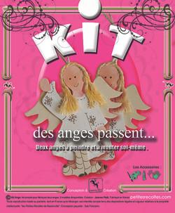 Kit pour fabriquer deux anges