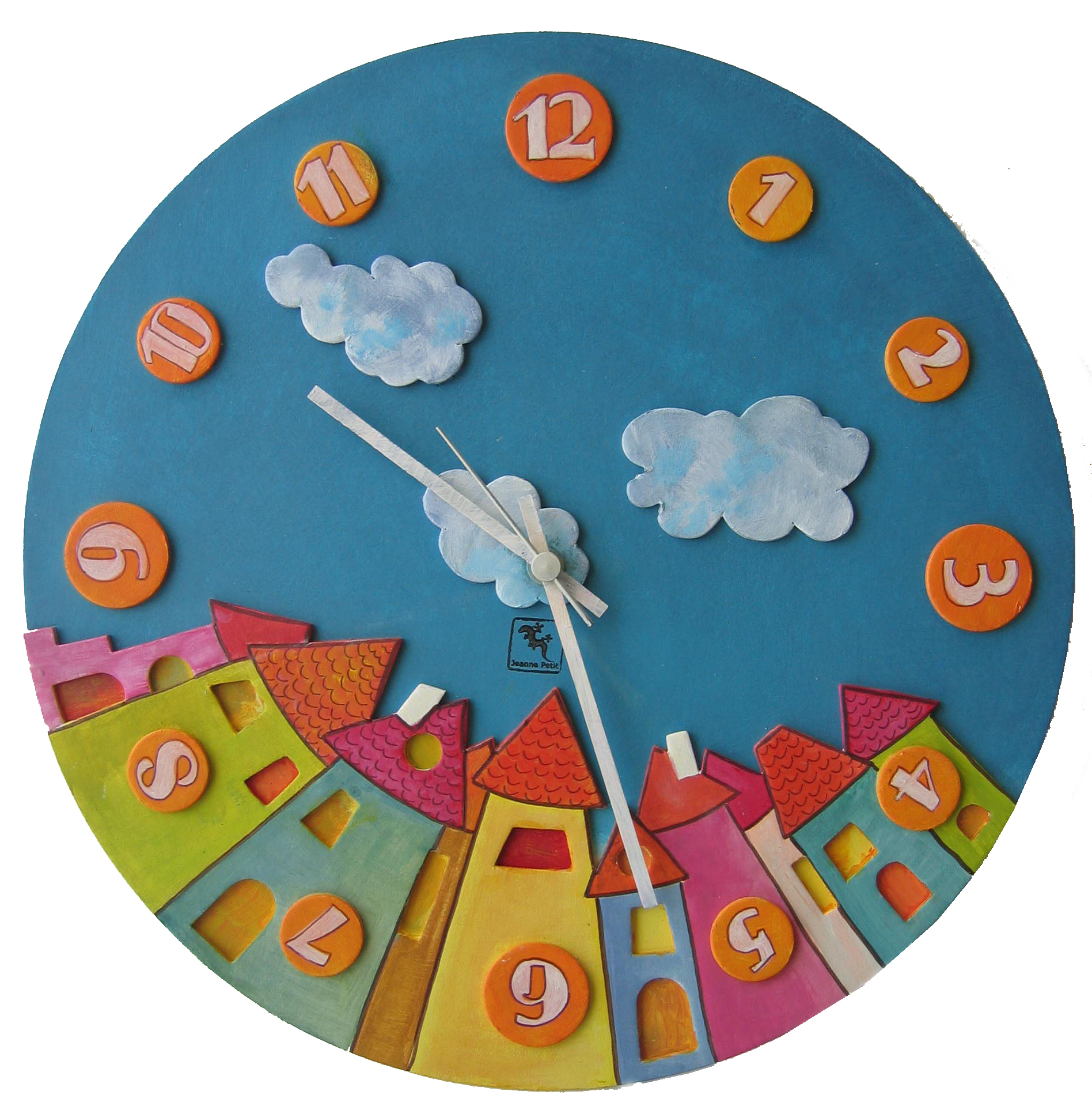 "TicTacClock, version ""le Village""."
