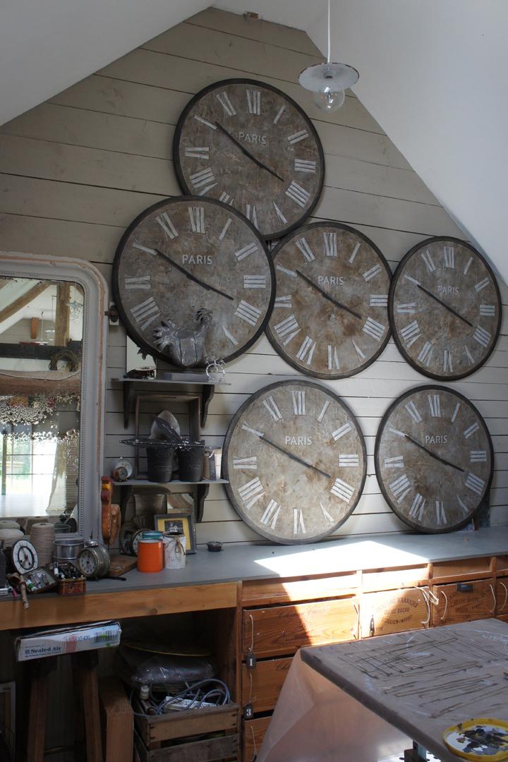 Horloges Jeanne Petit 80 cm
