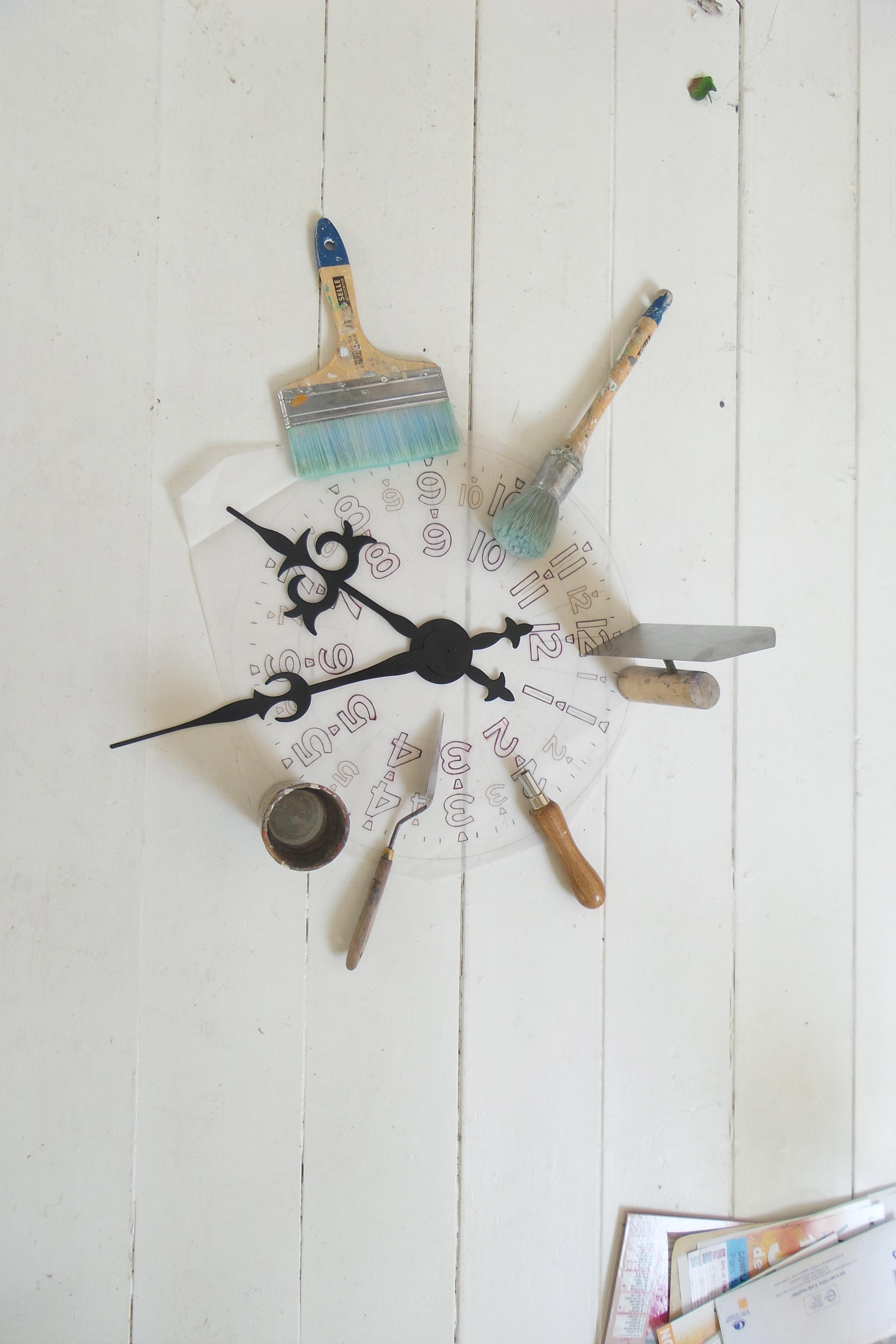 Outils à la création d'une horloge