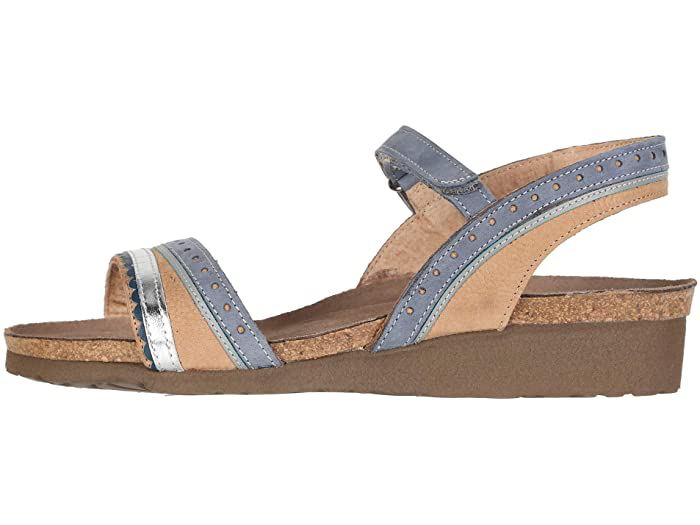 Beverly Nude Nbk/Fthr Blue/Silver