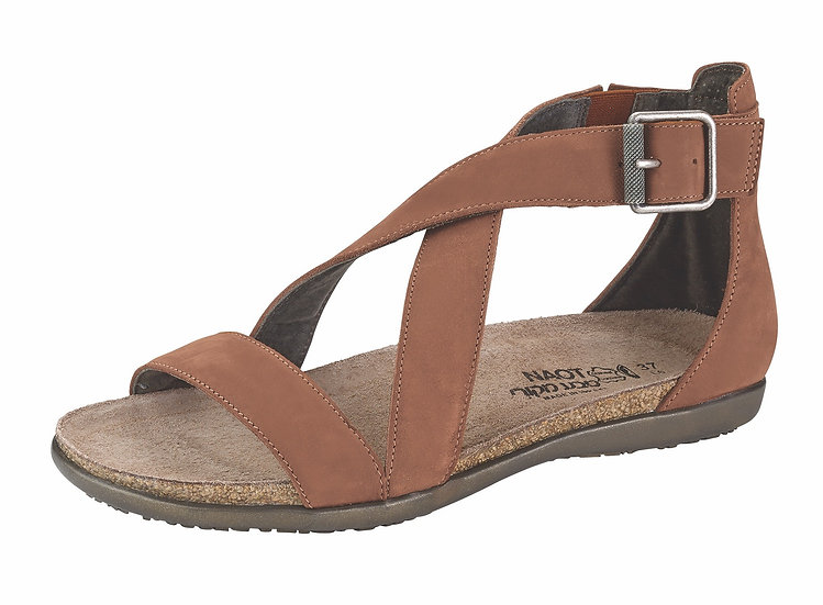 Rianna Hawaiian Brown Nubuck