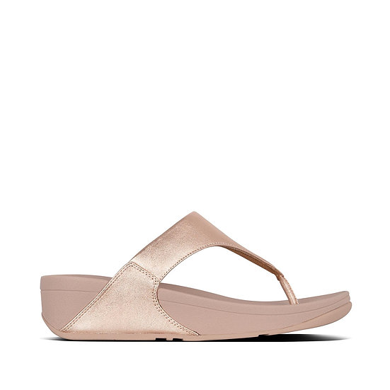 Lulu Leather Toe-Post