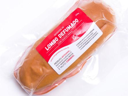 Lombo com Queijo Minas no Pão Baguete
