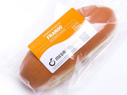 Pasta de Frango ao Curry e Passas no Pão Baguete