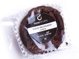 Bolo de Chocolate (Recheio de Nutella)