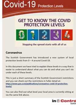Covid - 19 Protection Levels