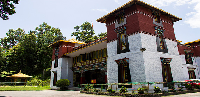Namgyal institute of tibetology gangtok