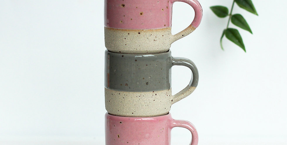 Espresso Speckled Cup